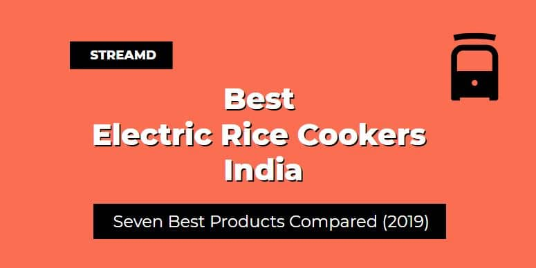 Best Electric Rice Cookers India