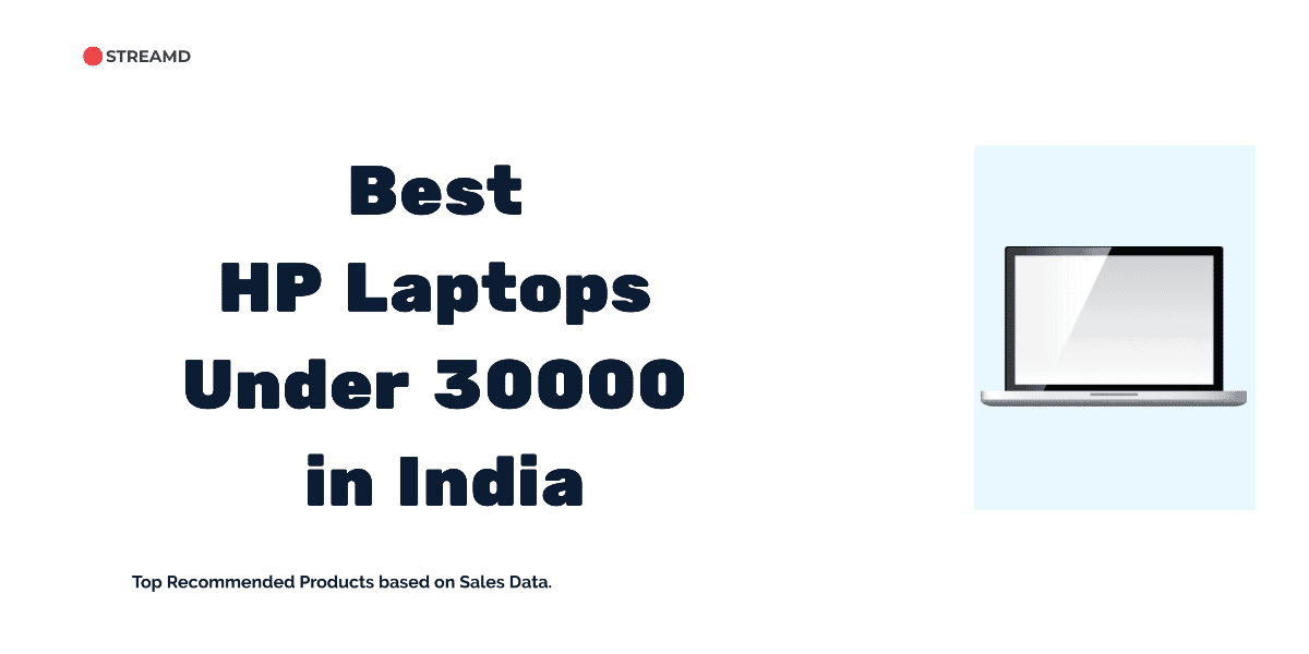 Best HP Laptops Under 30000 in India