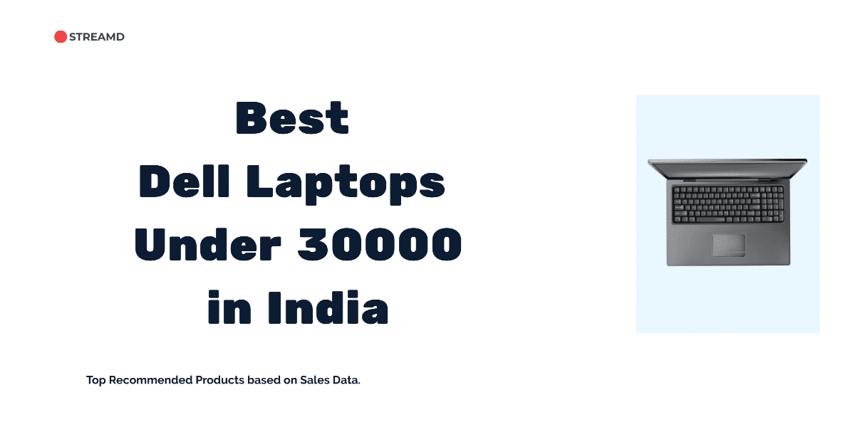 Best Dell Laptops Under 30000 in India