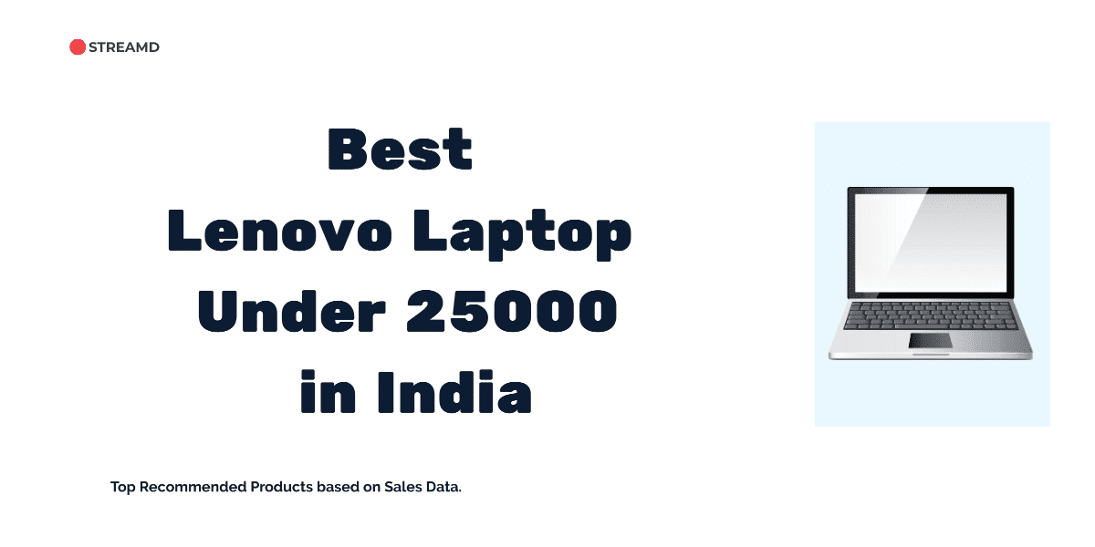 Best Lenovo Laptop Under 25000 in India