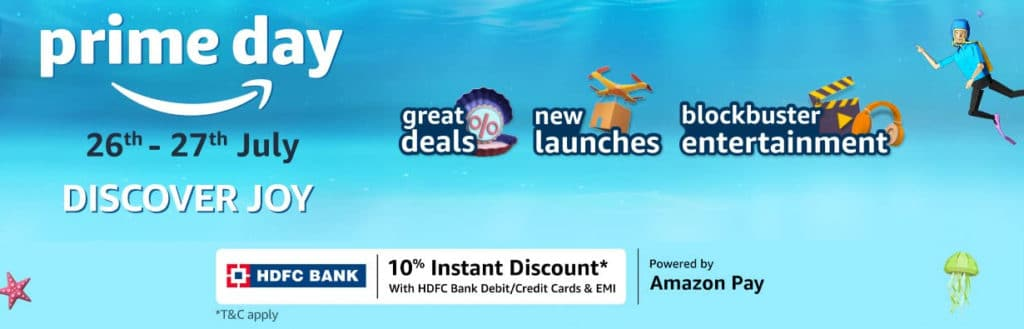 Amazon Prime Day HDFC Details
