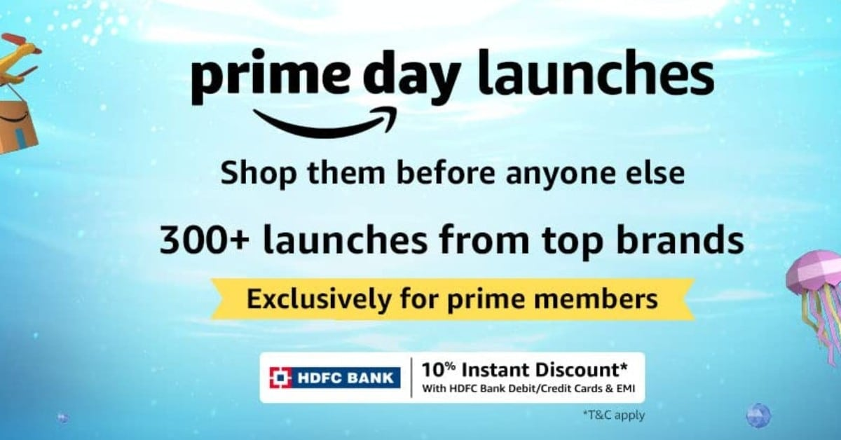 Amazon Prime Day New Launches