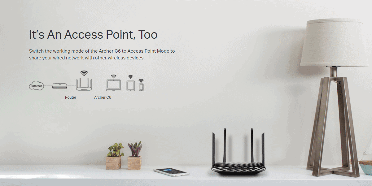 TP-Link Archer C6 Router Price In India